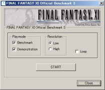 FINAL FANTASY XI for Windows - Official Benchmark Program 3